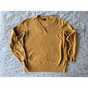 Gap V-Neck Sweater (Yellow/Gold/Mustard)